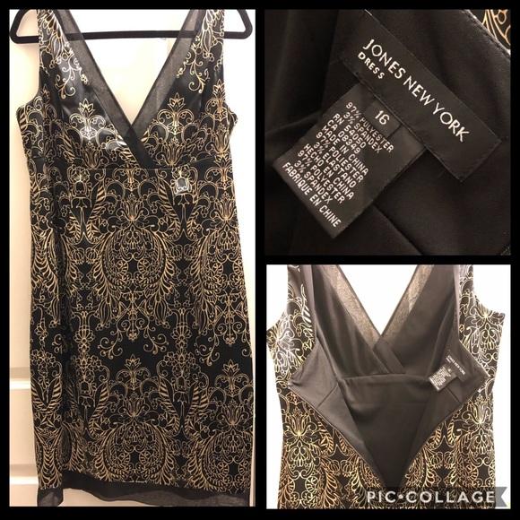 ❤️Elegant Jones New York Dress - Plus Size 16